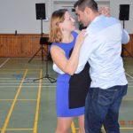 Les plus jeunes du club: Maïa la trésorière et son conjoint Jean-Pascal